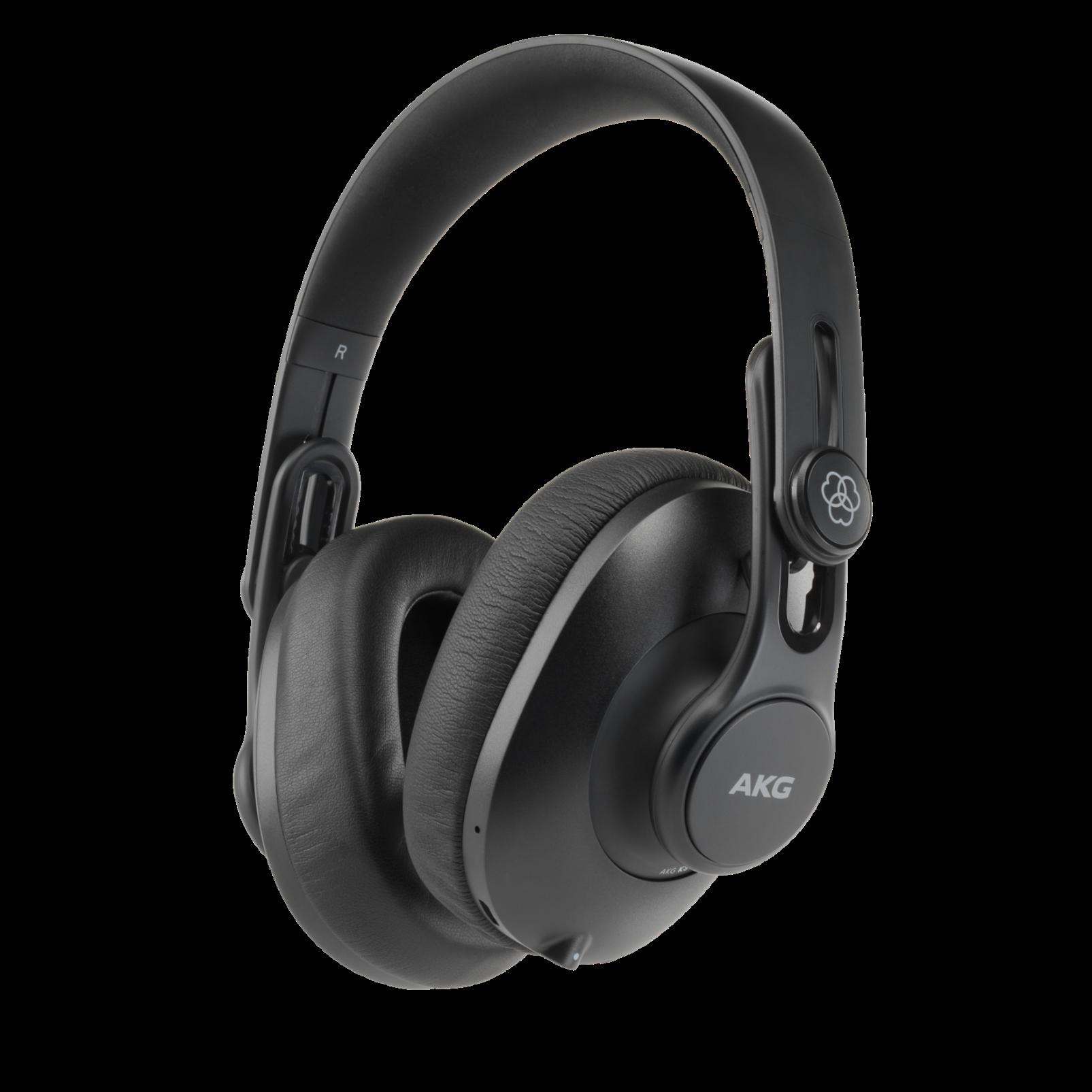 K361-BT - Black - Over-ear, closed-back, foldable studio headphones with Bluetooth - Hero