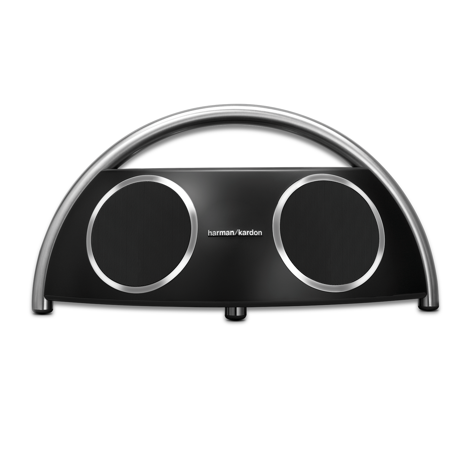 Go + Play Wireless - Black - Wireless loudspeaker designed for your digital music devices - Front