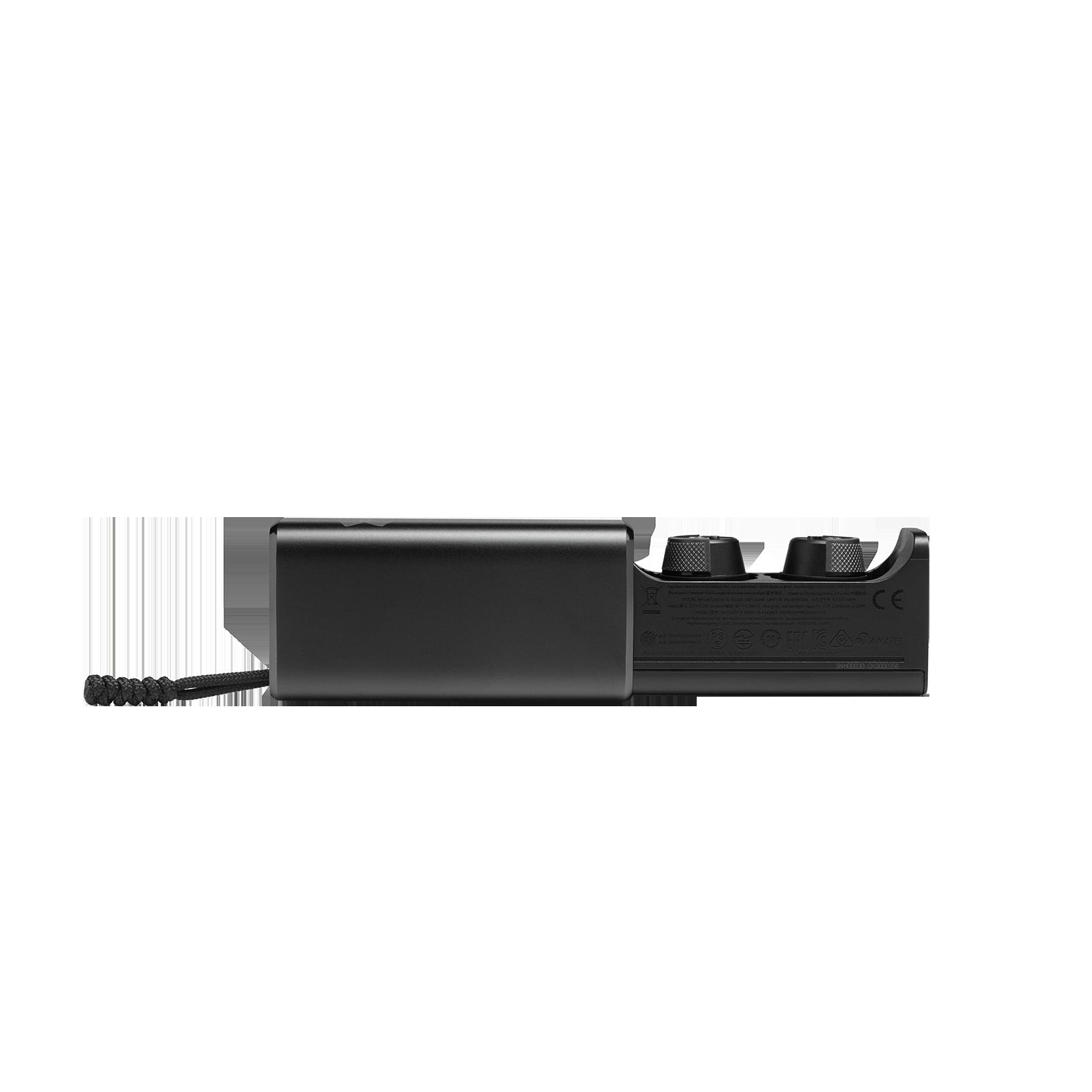 UA True Wireless Flash X - Engineered by JBL - Black - Waterproof true wireless sport earbuds - Detailshot 5