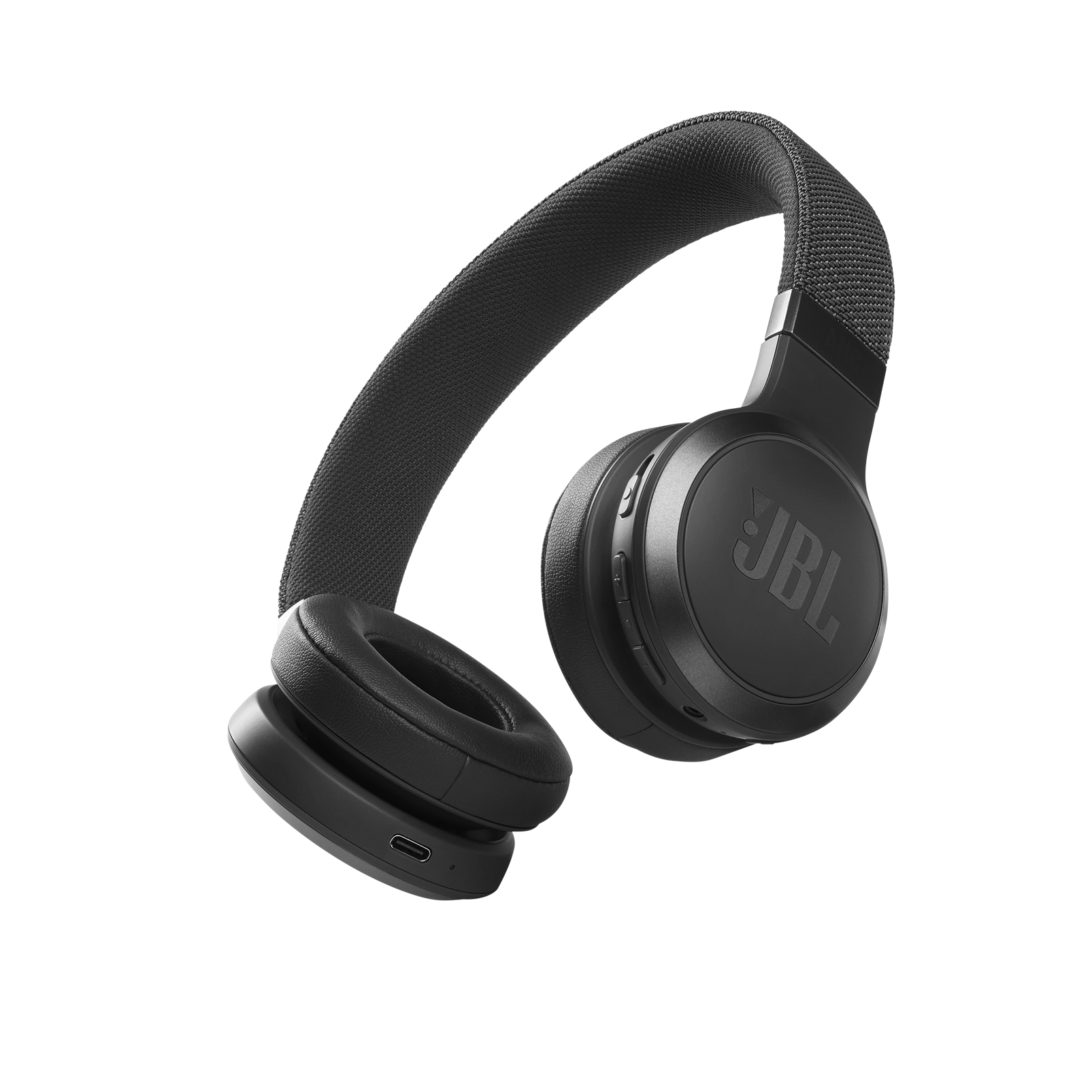 JBL Live 460NC - Black - WIRELESS ON-EAR NC HEADPHONES - Hero