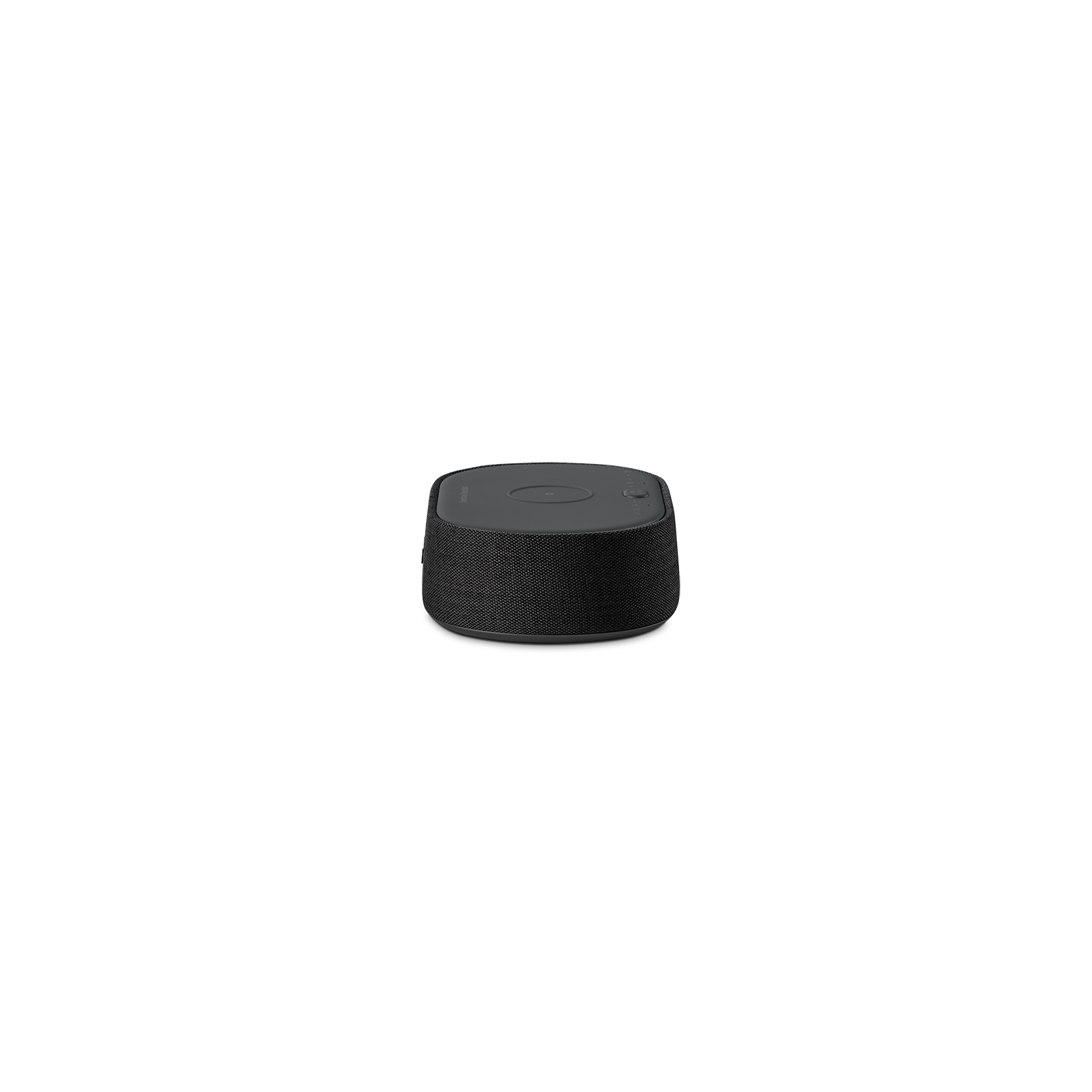 Harman Kardon Citation Oasis DAB - Black - Voice-controlled speaker with DAB/DAB+ radio and wireless phone charging - Left