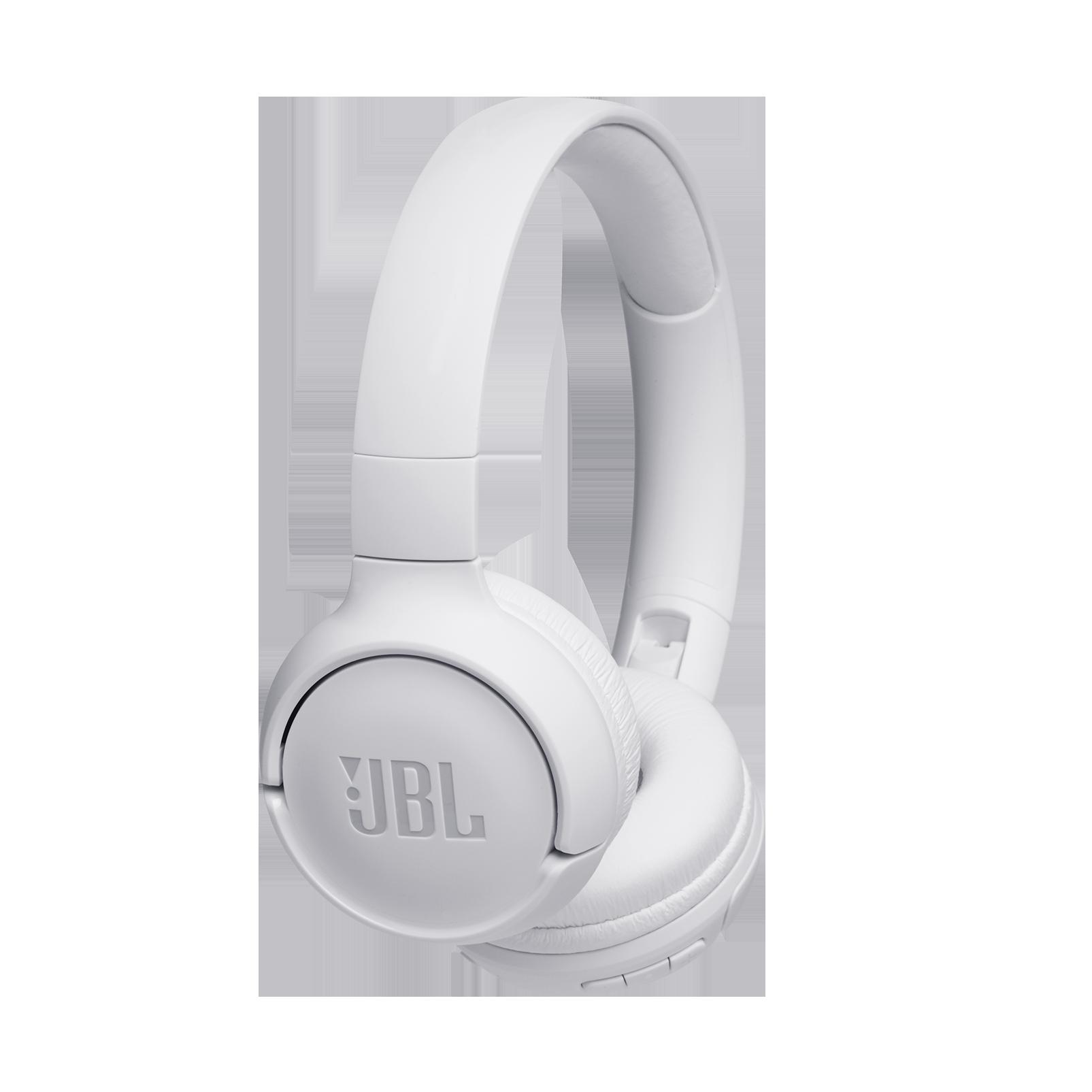 JBL TUNE 560BT - White - Wireless on-ear headphones - Hero