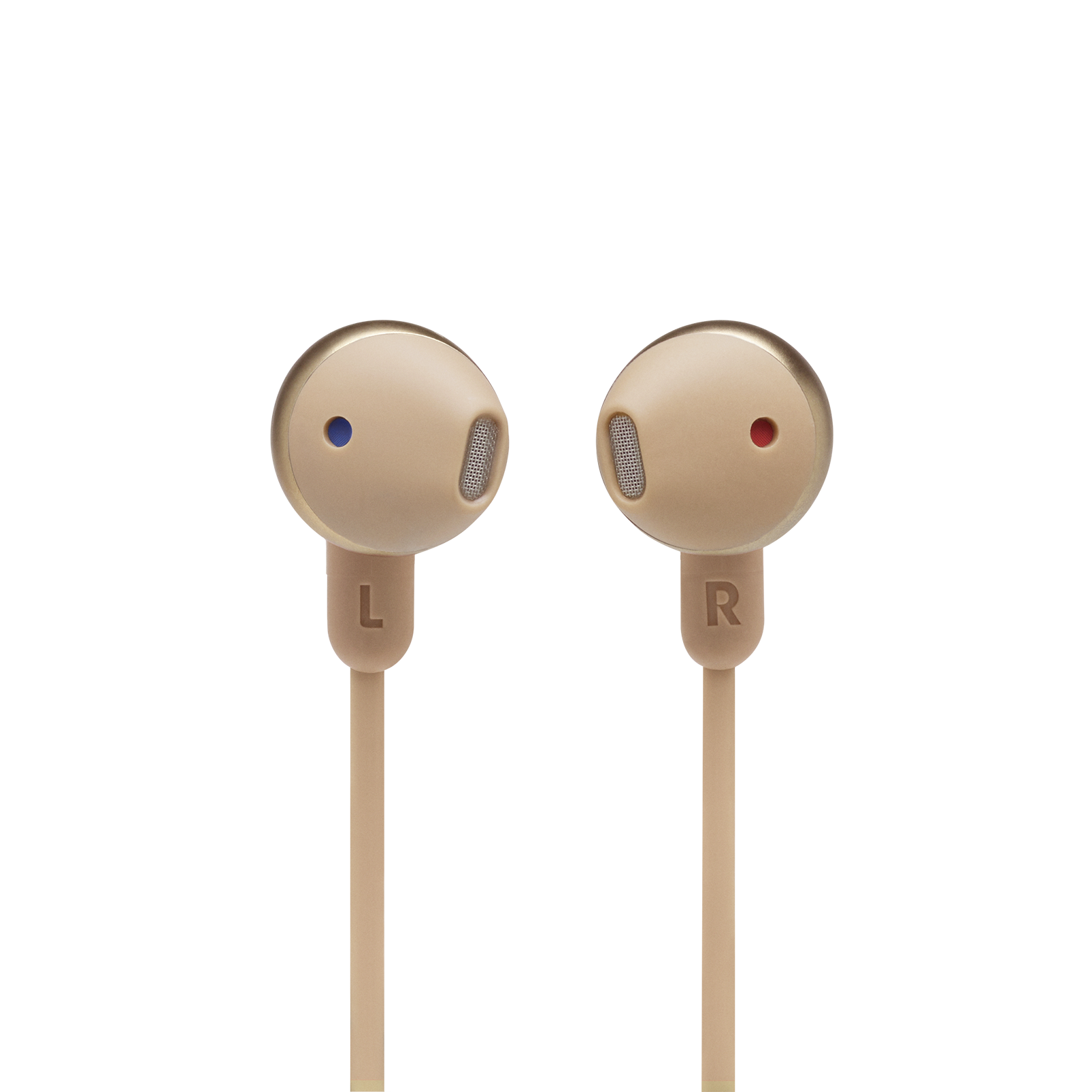 JBL TUNE 215BT - Champagne Gold - Wireless Earbud headphones - Detailshot 1