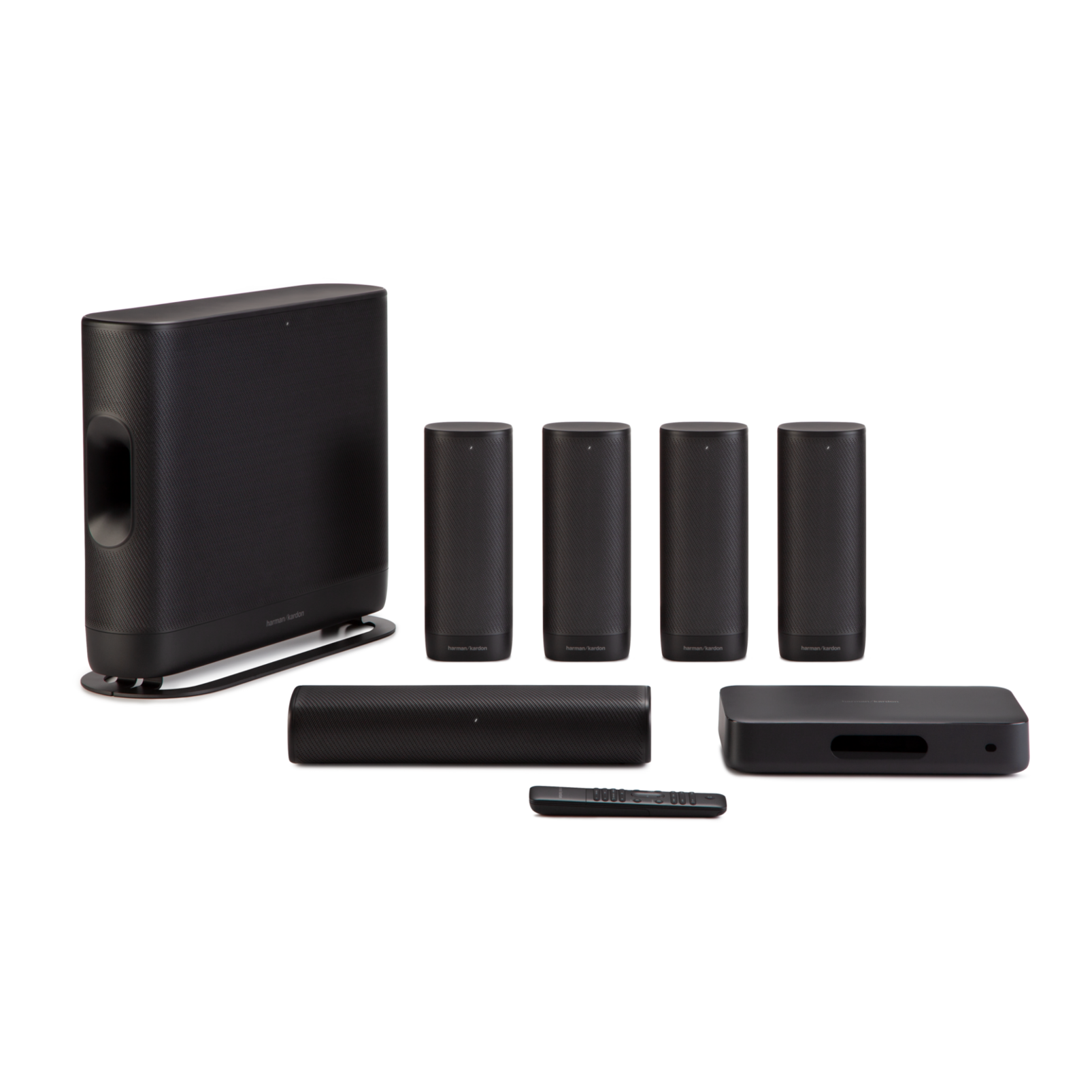 Harman Kardon Surround - Black - Wireless Home Theater System - Hero