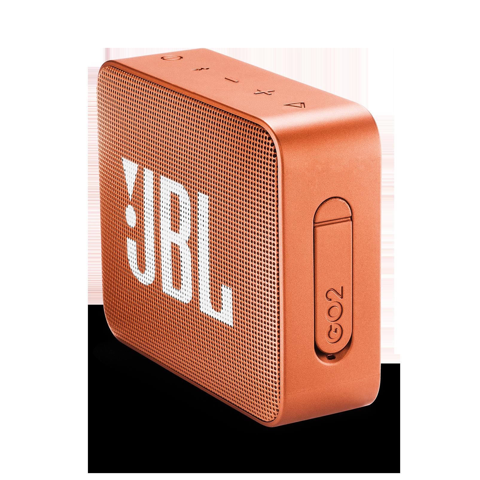 JBL GO 2 - Coral Orange - Portable Bluetooth speaker - Detailshot 2