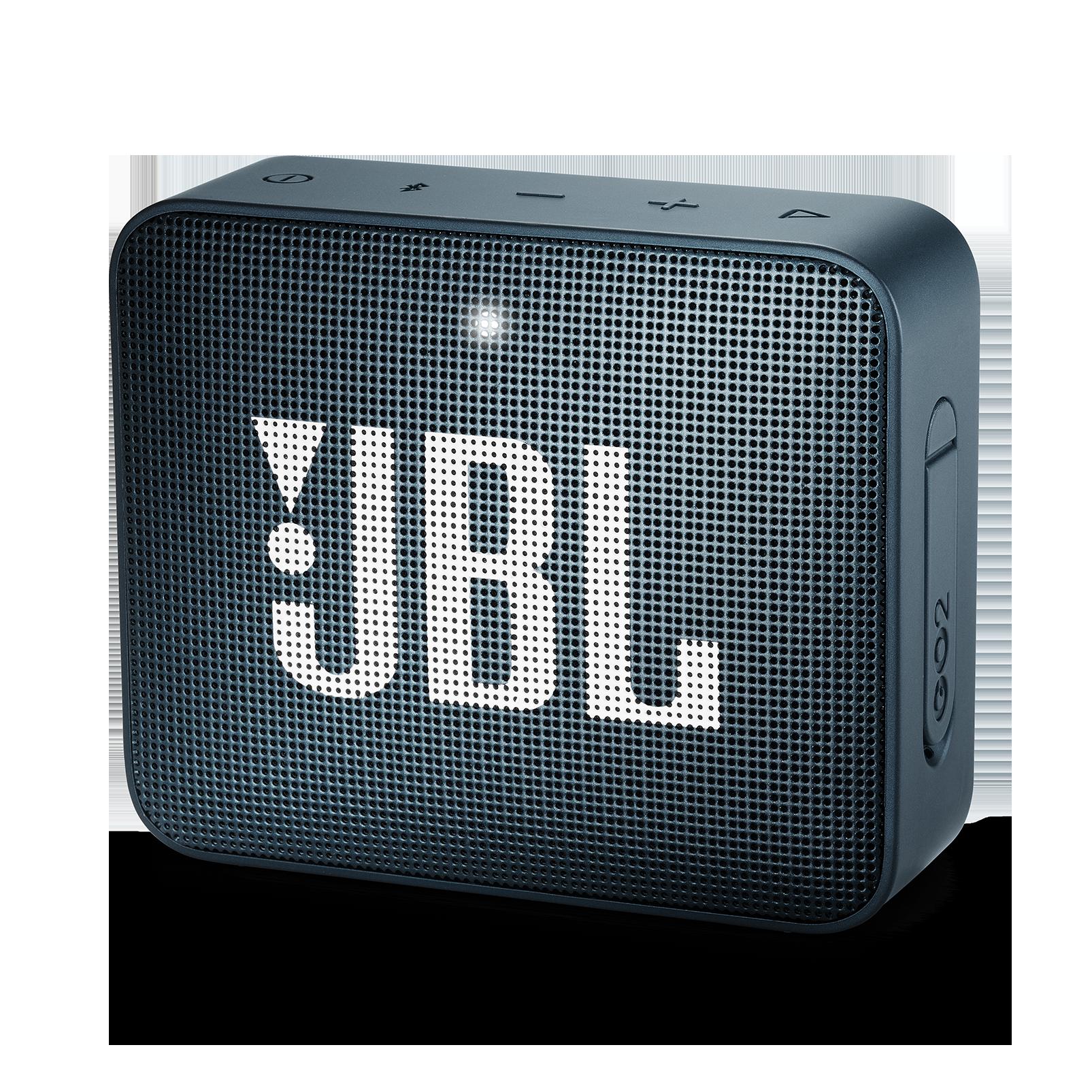 JBL GO 2 - Slate Navy - Portable Bluetooth speaker - Hero