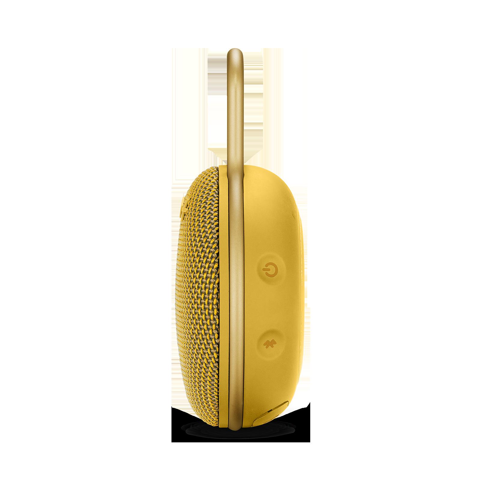 JBL CLIP 3 - Mustard Yellow - Portable Bluetooth® speaker - Detailshot 2