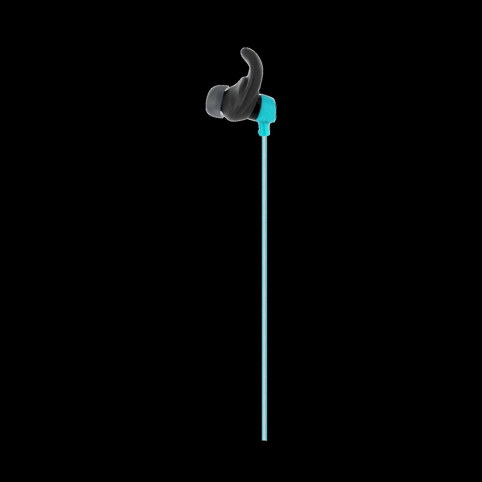 Reflect Mini - Teal - Lightweight, in-ear sport headphones - Detailshot 7
