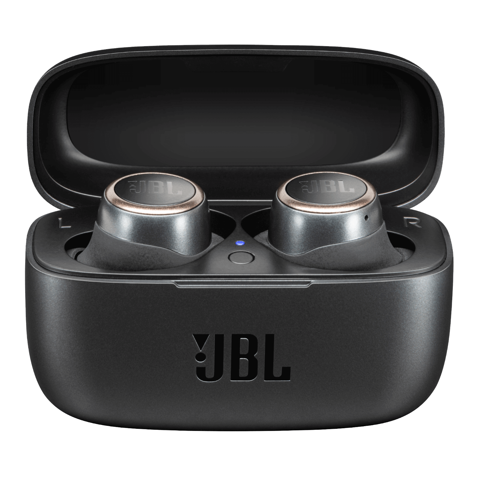 JBL LIVE 300TWS - Black - True wireless in-ear headphones with Smart Ambient - Detailshot 3