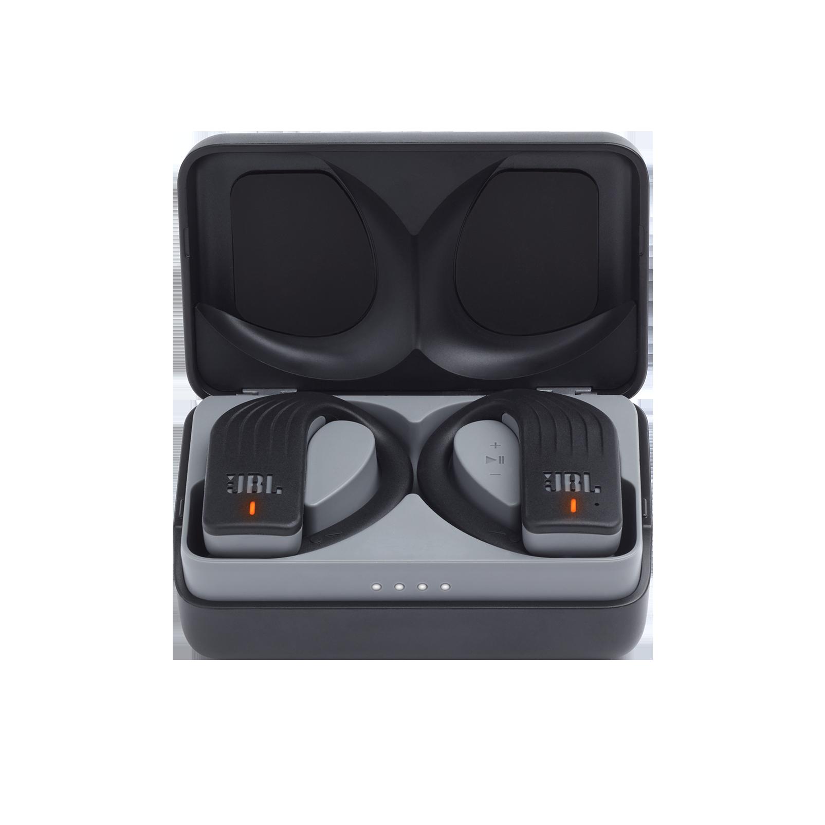 JBL Endurance PEAK - Black - Waterproof True Wireless In-Ear Sport Headphones - Detailshot 3