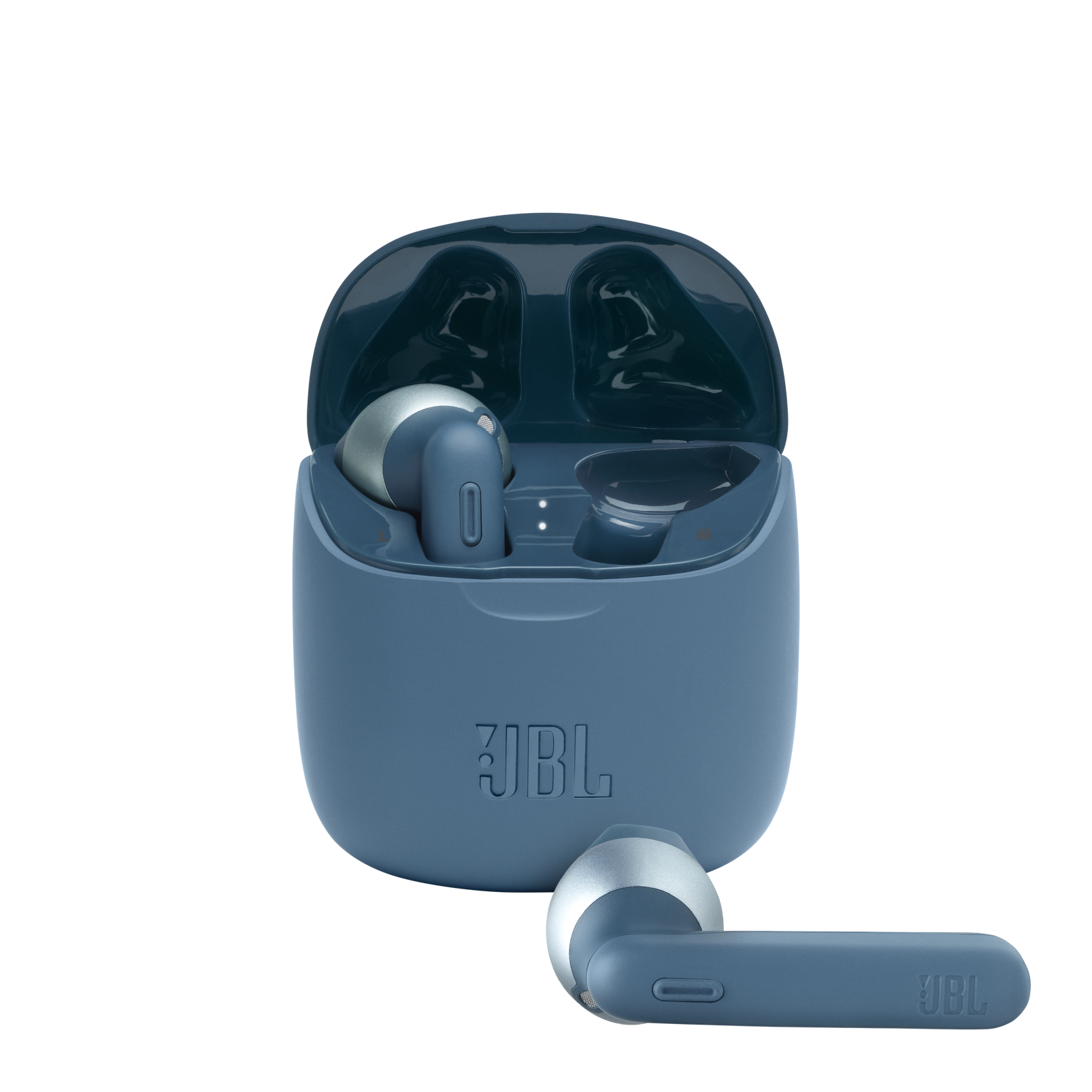 JBL Tune 225TWS - Blue - True wireless earbuds - Hero