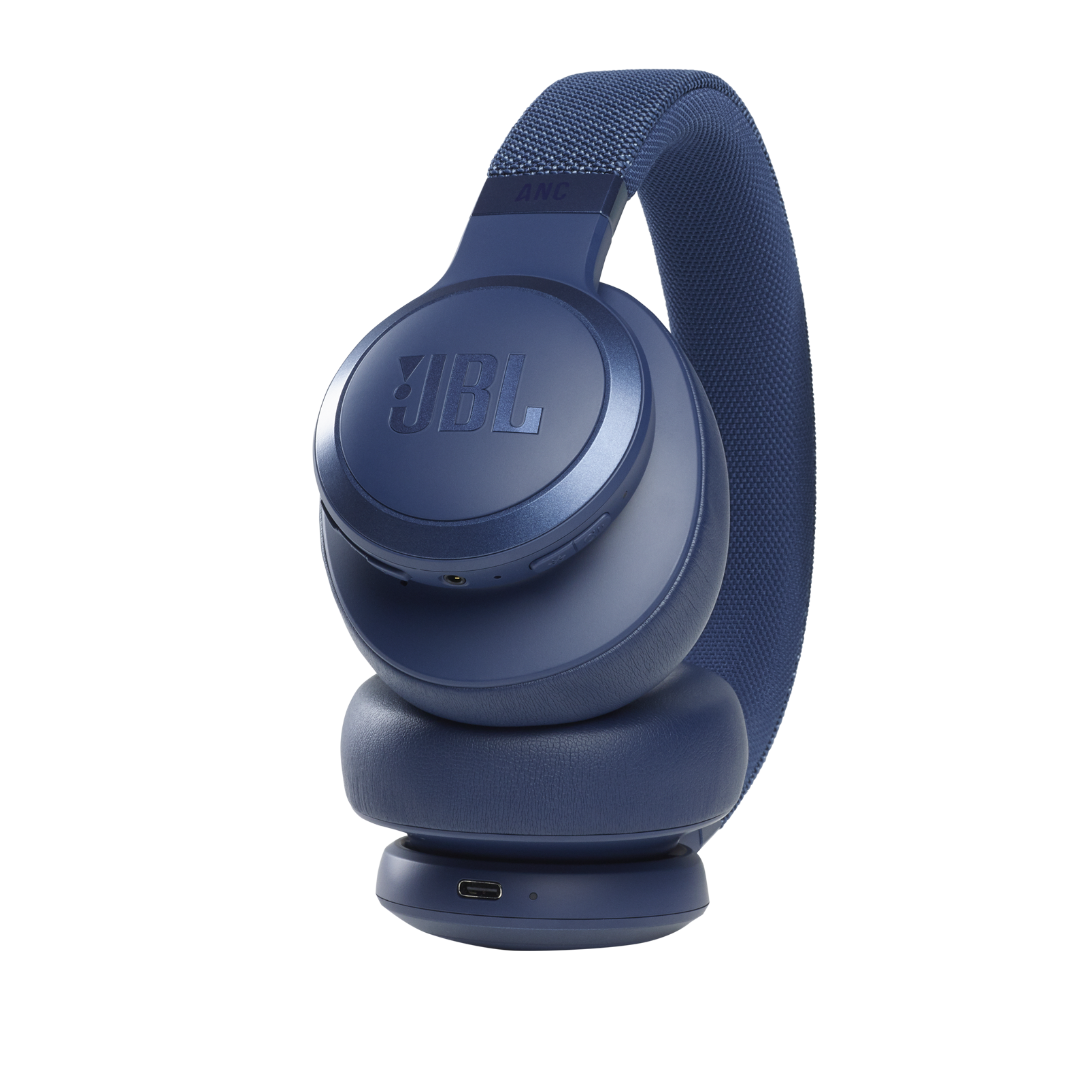 JBL Live 660NC - Blue - WIRELESS OVER-EAR NC HEADPHONES - Detailshot 4