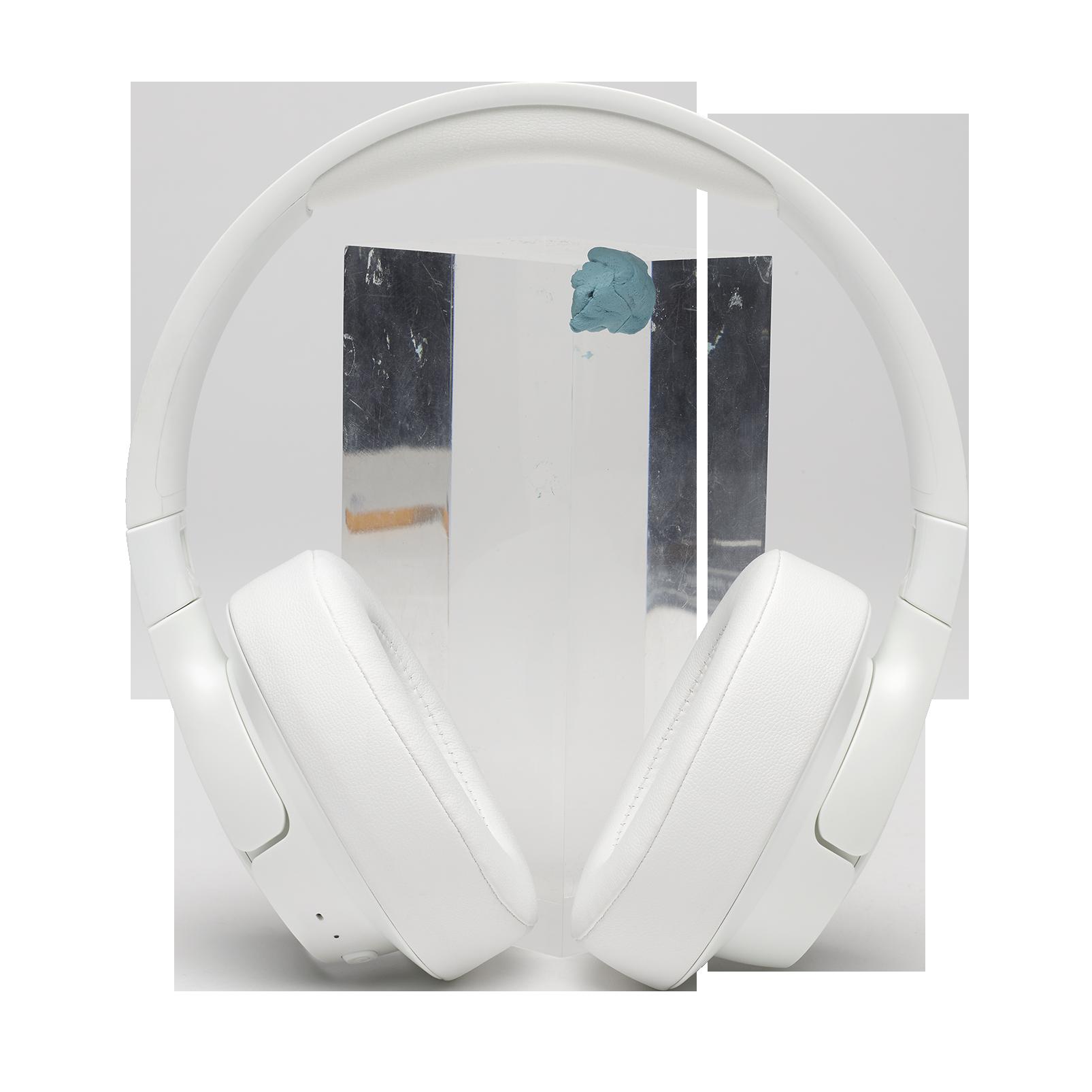 JBL TUNE 700BT - White - Wireless Over-Ear Headphones - Front