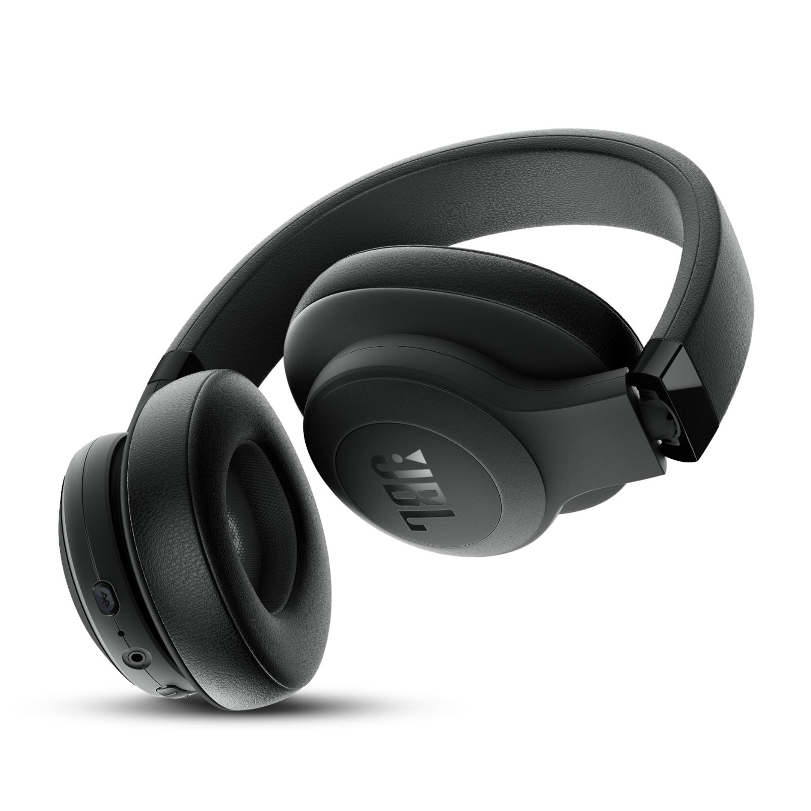 JBL E500BT - Black - Wireless over-ear headphones - Back