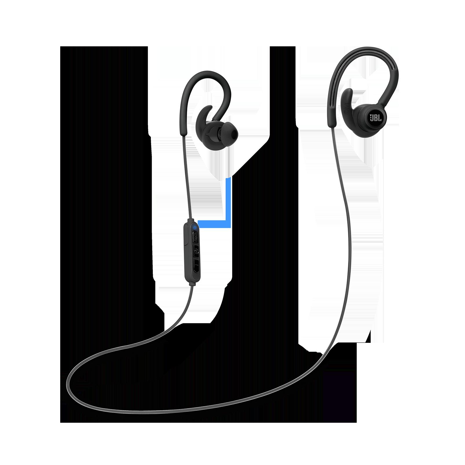 Reflect Contour - Black - Secure fit wireless sport headphones - Detailshot 3