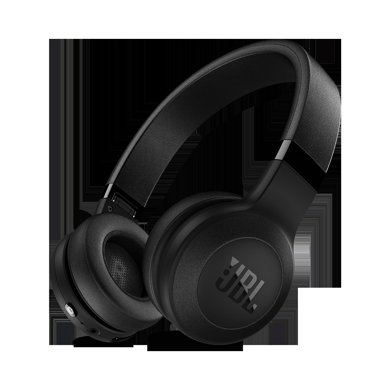C45BT - Black Matte - Wireless on-ear headphones - Hero