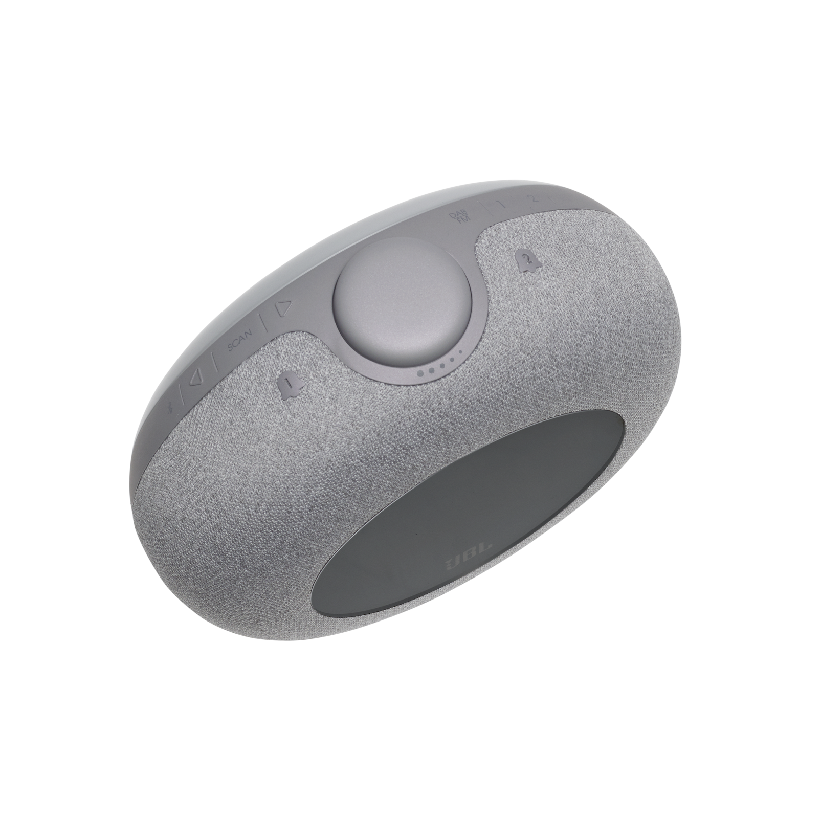 JBL Horizon 2 DAB - Grey - Bluetooth clock radio speaker with DAB/DAB+/FM - Detailshot 2