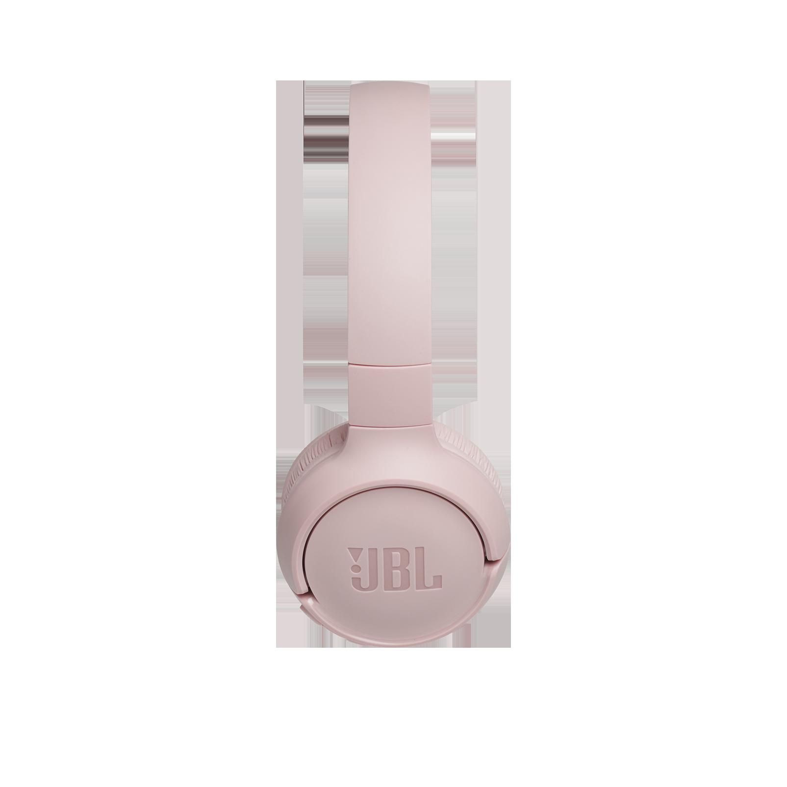 JBL TUNE 500BT - Pink - Wireless on-ear headphones - Left
