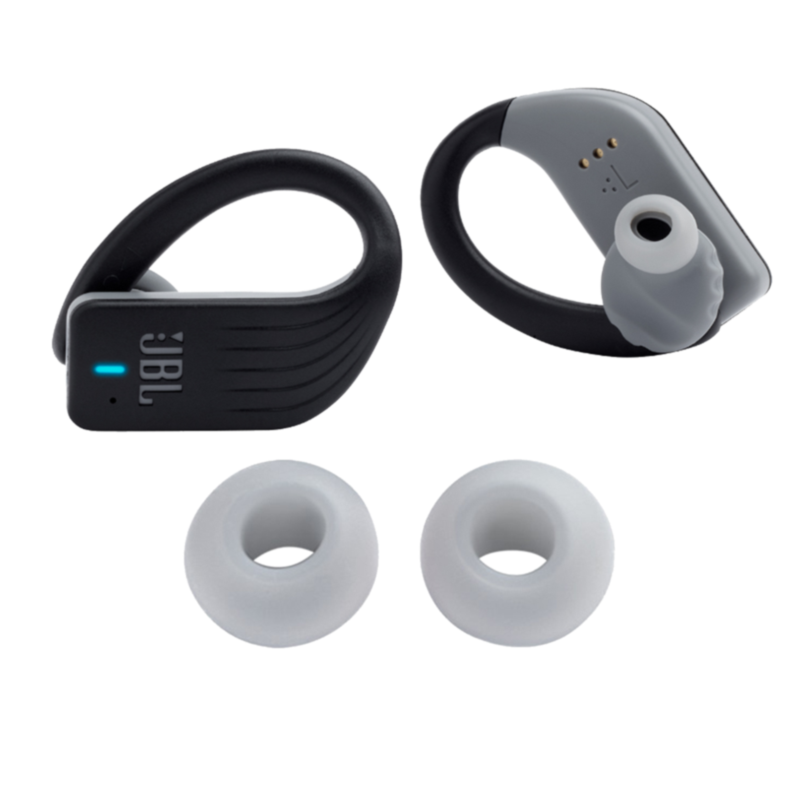 JBL Endurance PEAK replacement kit - Black - Ear buds, ear tips and enhancers - Hero