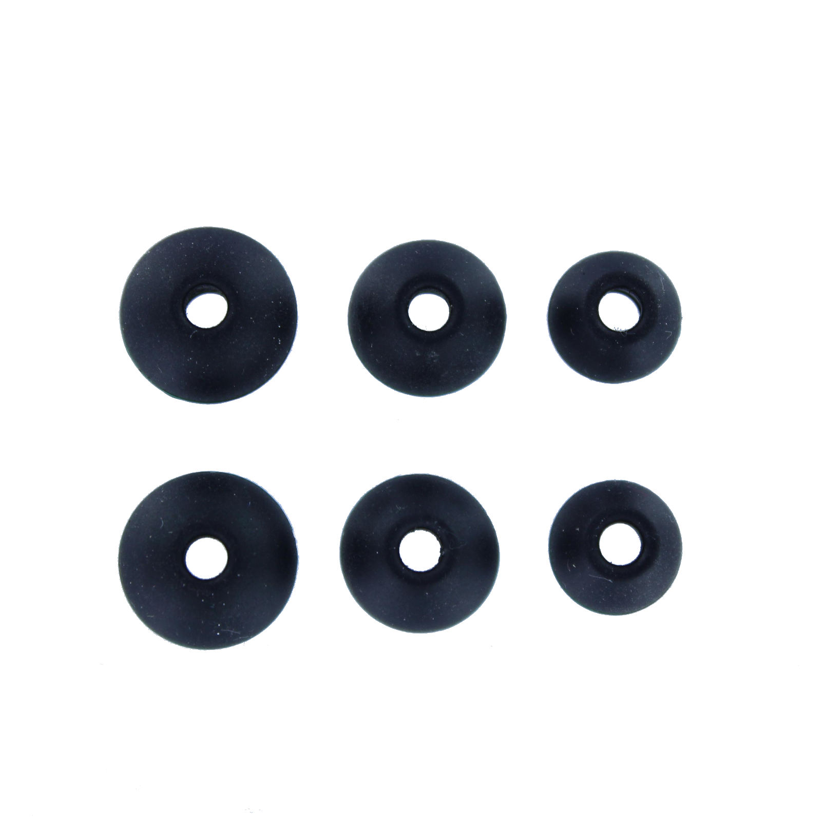 Ear tip set (S+M+L), N20 - Black - Hero