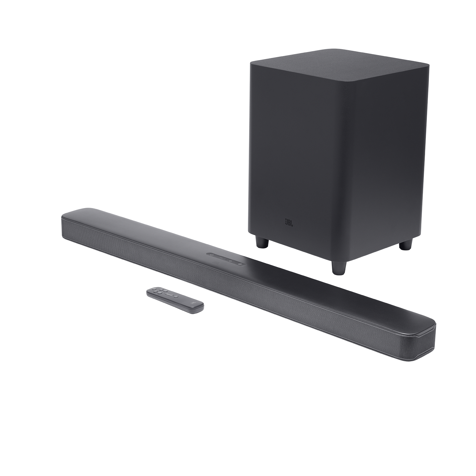 JBL Bar 5.1 Surround - Black - 5.1 channel soundbar with MultiBeam™ Sound Technology - Hero
