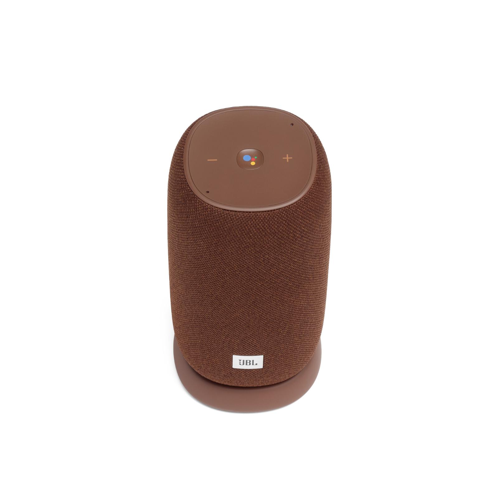 JBL Link Portable - Brown - Portable Wi-Fi Speaker - Front