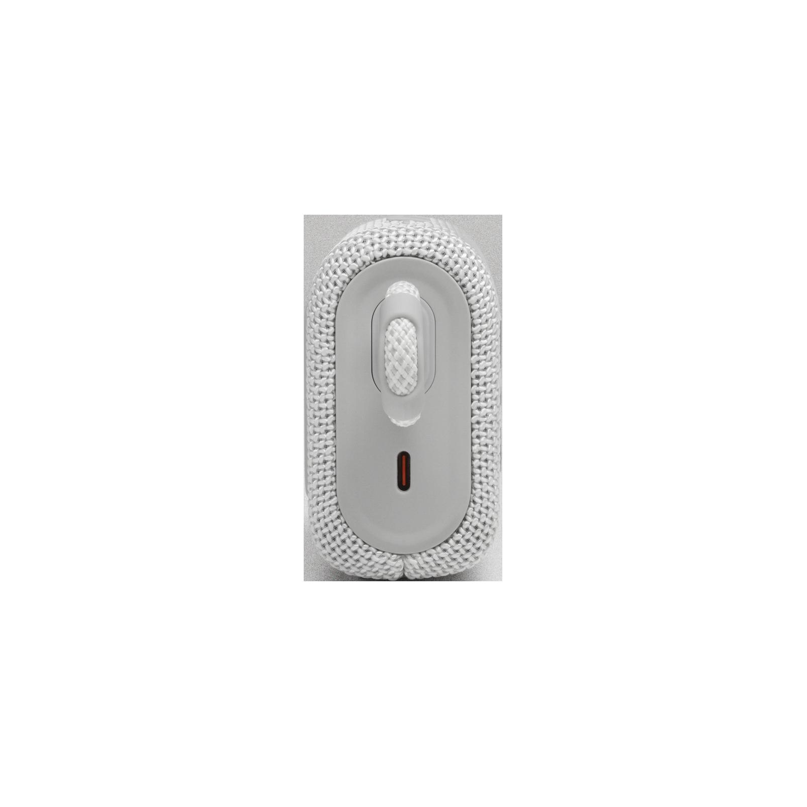 JBL GO 3 - White - Portable Waterproof Speaker - Left