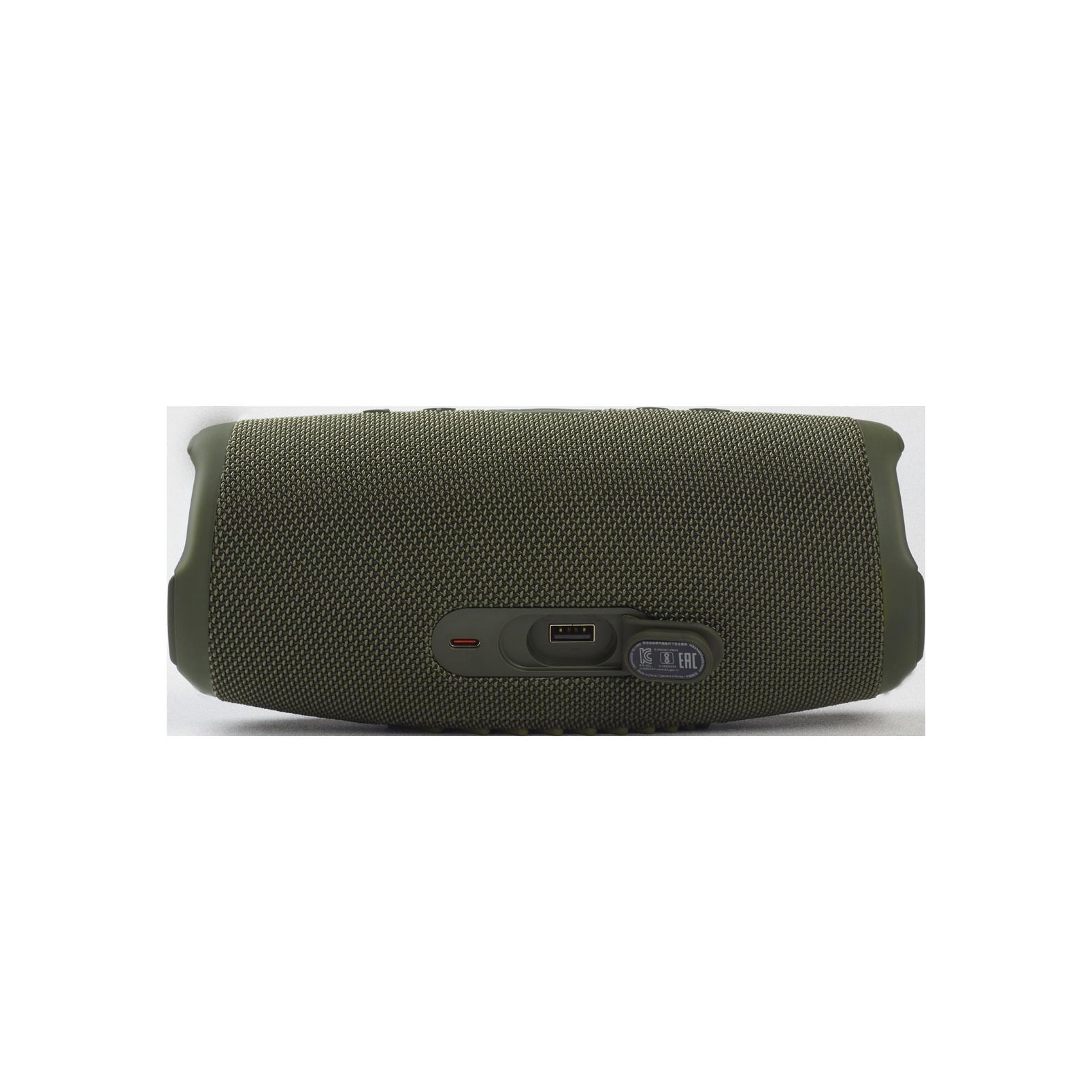 JBL CHARGE 5 - Forest Green - Portable Waterproof Speaker with Powerbank - Detailshot 1