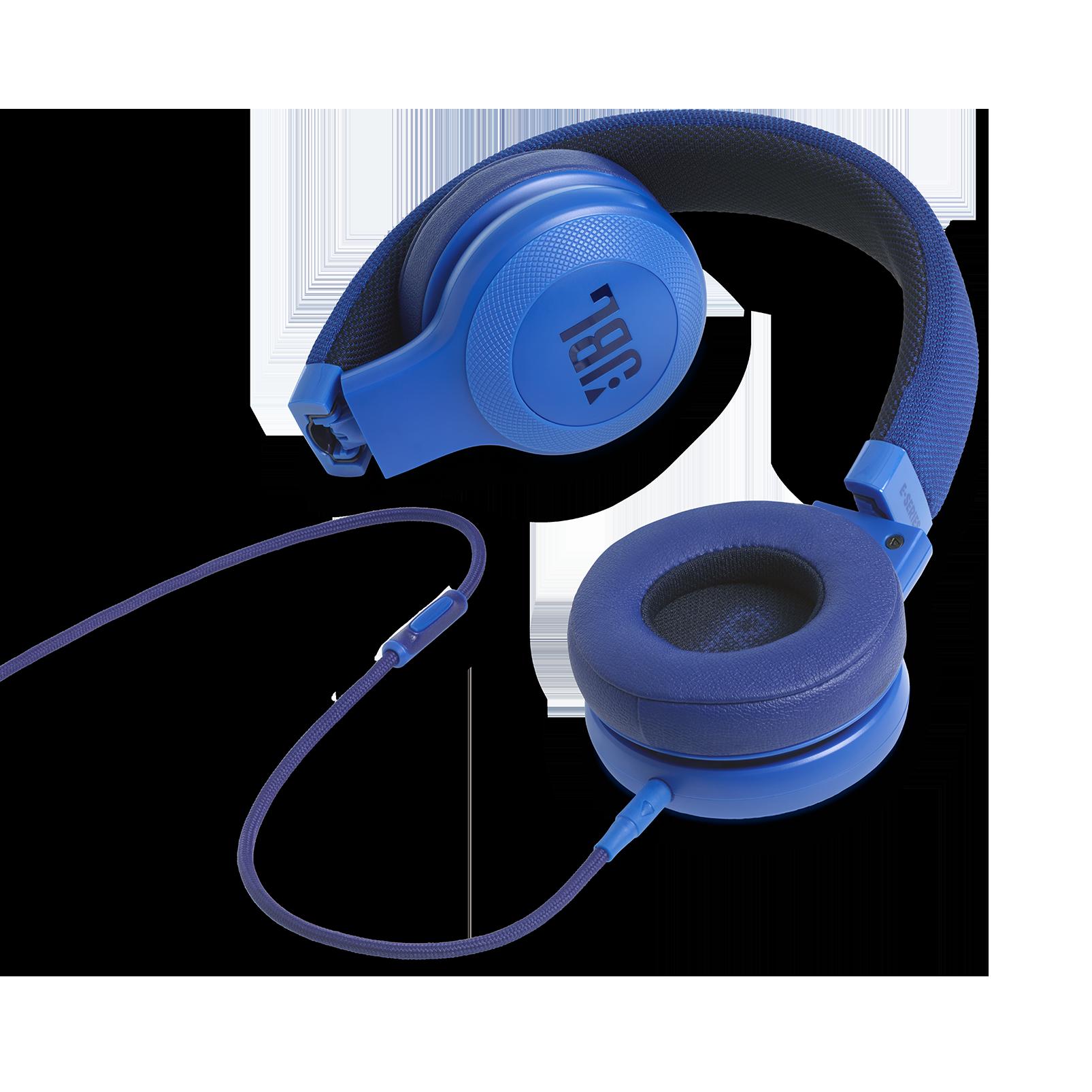 E35 - Blue - On-ear headphones - Detailshot 3