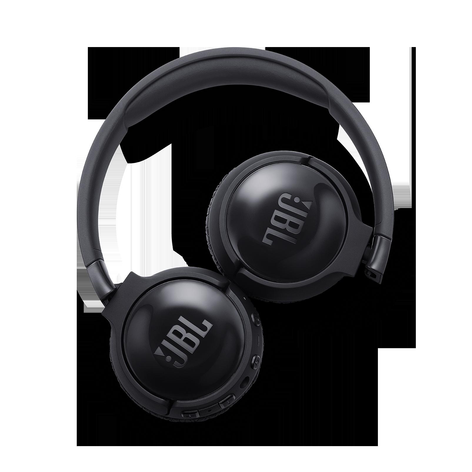 JBL TUNE 600BTNC - Black - Wireless, on-ear, active noise-cancelling headphones. - Detailshot 4